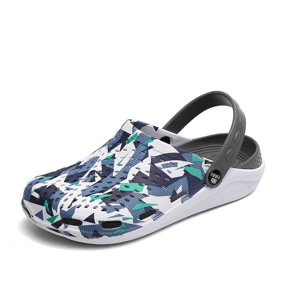 Women's Summer Sandals for Beach  Rubber Sandals Summer  Clogs Men's Slip-on