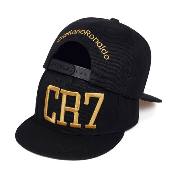 High quality CR7 embroidered baseball cap outdoor cotton hip hop snapback caps