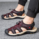 New Fashion Breathable Men's sandals Summer Beach Shoes Outdoor Men's Sandal