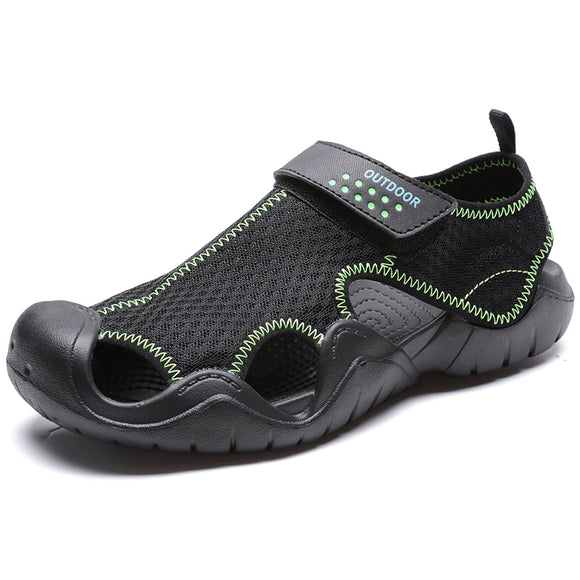 Summer Men's Sandals Breathable Mesh Men's Shoes Sandals Outdoor