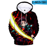 Personality Mix-Up Hoodie Demon Slayer: Kimetsu no Yaiba