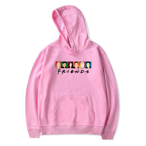 Hot fashion Friends TV Show print Hoodies Women/Men Harajuku
