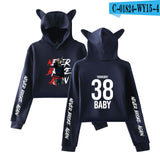 Newest Cat Ears hoodies YoungBoy Never Broke Again hoodie women