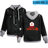 New fashion TV Series Stranger things Hoodies Denim jacket Men/Women
