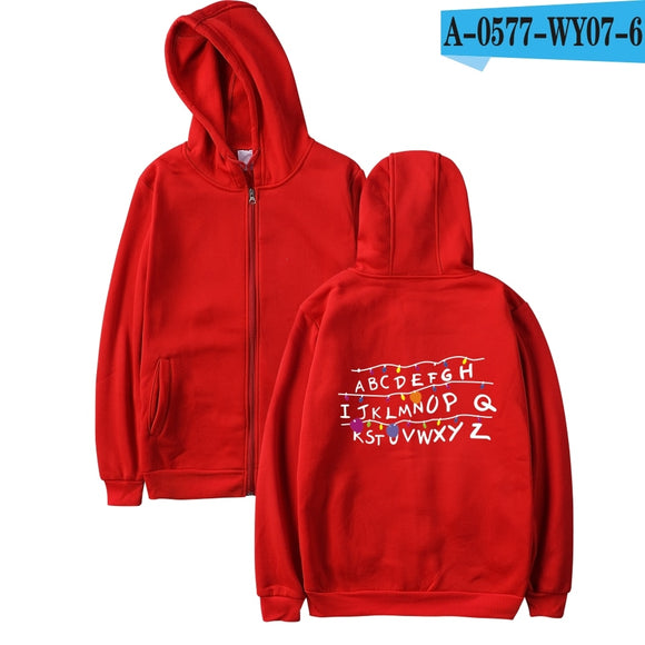 Newest Stranger Things Hoodies Men/Women Letters Printed Autumn