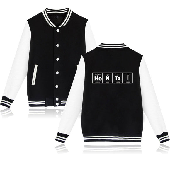 Hentai baseball jackets for men and women