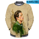 New designs Charlie Puth Baseball uniform men spring Casual
