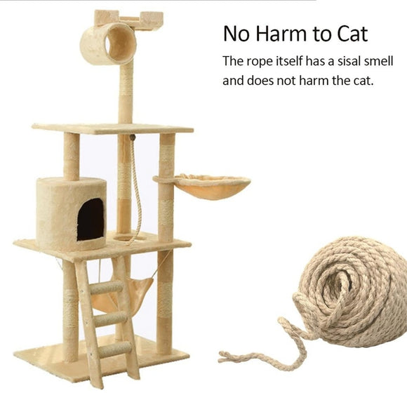Sisal Rope For Cat Tree Scratch Post Cat Tree Scraper Cats Rope Making DIY Desk Foot