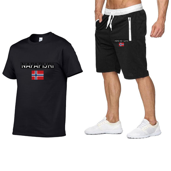 NAPAPIJRI Fashion men's shorts set