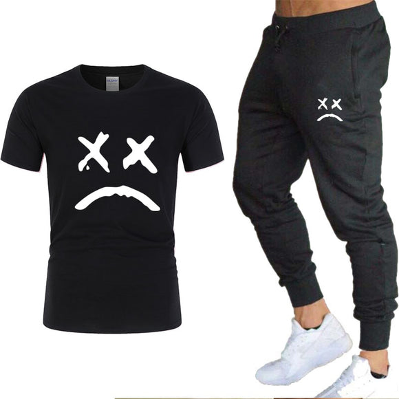 Men's T-shirt and Pants Sets, Two Piece Sets