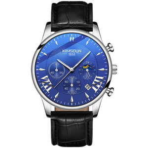 Moon Phase Star Calendar Men's Watch Student Trend Multifunctional Quartz Watches