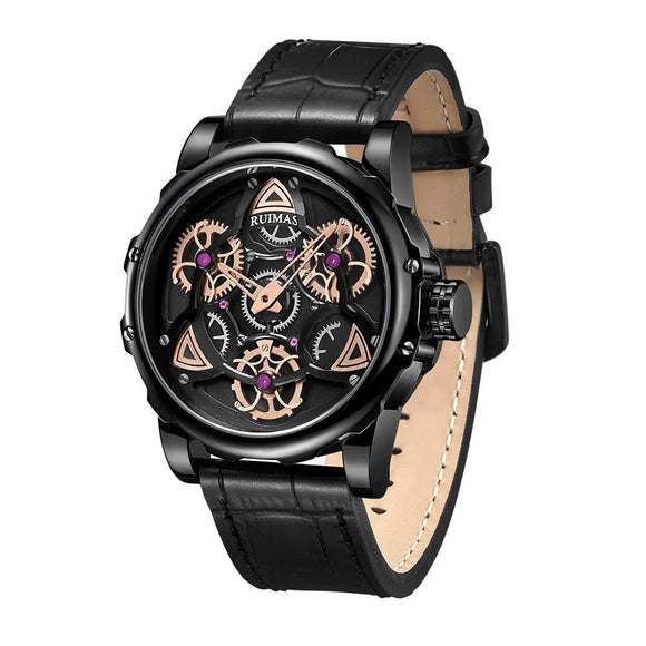 Rimas Ruimas Time To Run Personality Men Quartz Watch Creativity