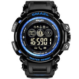 Smael Smill Watch Sports Outdoor Waterproof More Function Popular Men Electronic creative watches