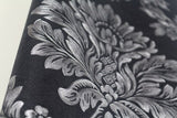 beibehang  Damask wallpaper black and white classic home decor background wall PVC