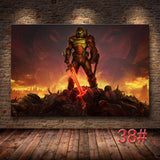 Unframed HD The Game Poster DOOM Eternal canvas Oil Painting Wall Art Wall for Living Modern Home Decor for Picture Wall Art