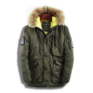 Fashion Casual Slim Thick Warm Winter Jacket Men Brand Clothing Mens top Coats Parkas
