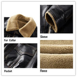 New Mens Brand Clothing Thermal Outerwear Winter Fur Male Fleece Jackets Men's
