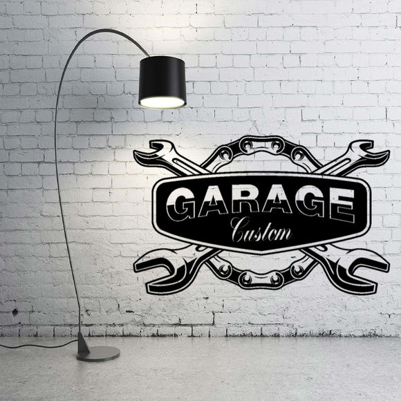 Car Service garage Wall Sticker Decal Carshop Service Sticker Decoration  A00370