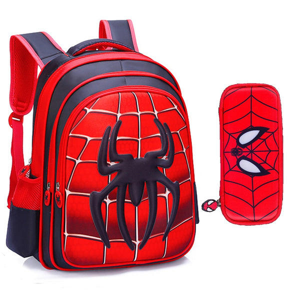 Teenagers School Bags Fashion Ultra Light Burden Reduction Children School Backpack Cartoon