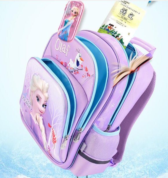 NewGenuine Disney Frozen 2 Elsa Olaf shool bag Children toy kids backpack Birthday Christmas gift doll