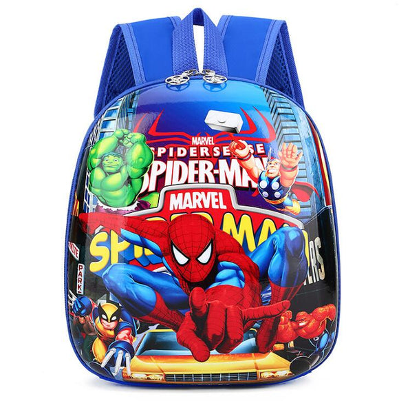Disney cartoon princess frozen children's school bag kindergarten boys girls cute baby bag