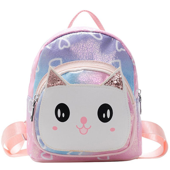 Cartoon PU Children Backpacks kindergarten Schoolbag Animal Kids Backpack Children School Bags Cute Girls Backpacks For 2-6 Y