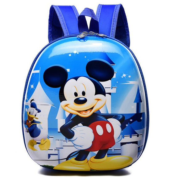 Disney cartoon Children Mickey bag school shell backpack children kindergarten cartoon 2-5T girl boy backpack Frozen