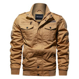 Fleece Thick Jacket Men Autumn Winter Mens Warm Bomber Jackets Casual Coats Tops