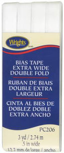 Extra Wide Double Fold Bias Tape