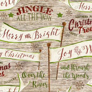 Christmas Banners and Signs