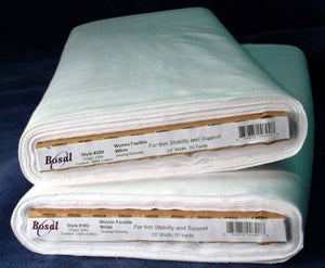 100% Cotton Woven, Fusible Interfacing