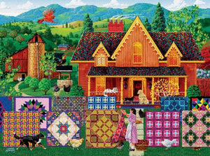 Morning Day Quilt 1000pc puzzle