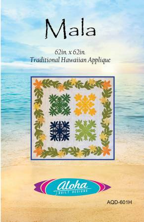 Traditional Hawaiian Applique Pattern