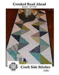 Crooked Road Ahead Table Runner