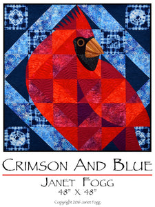 Crimson and Blue