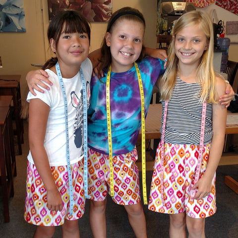 Kid Sew Two (ages 9-11) Summer Camp