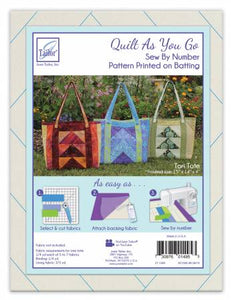 Quilt As You Go Tori Tote
