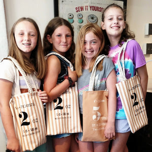 Kid Sew  (Ages 9-11) Summer Camp