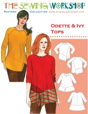 Odette and Ivy Top