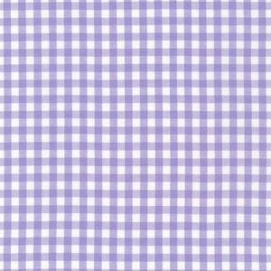 Lavender 1/4in Gingham Yarn Dye