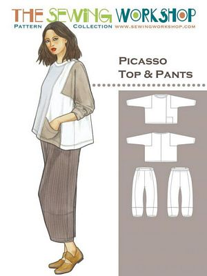 Picasso Top and Pant