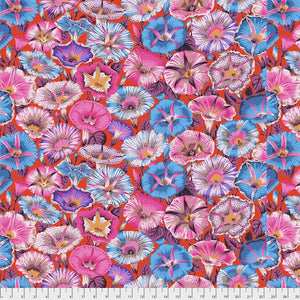 Kaffe Fassett - Variegated Morning Glory - Red