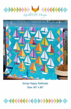 Scrap Happy Sailboats