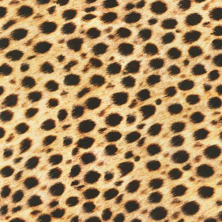 Wild Cheetah Skin Digital Print