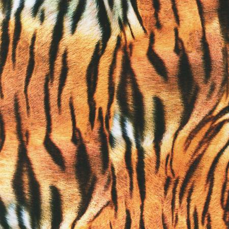 Wild Tiger Skin Digital Print