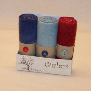Wool Curlers 4in x 16in Nautical