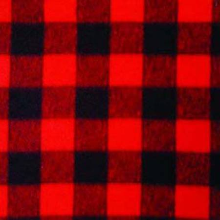 Red Buffalo Plaid Winter Fleece