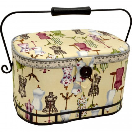 Sewing Basket - Large Oval Dressform