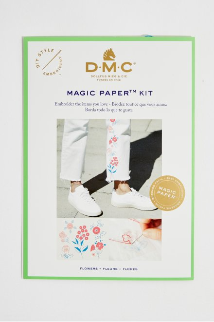Magic Paper Embroidery Kit