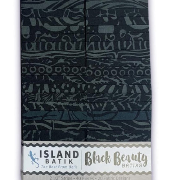 Batik Precut - Salt & Pepper and Black Beauty